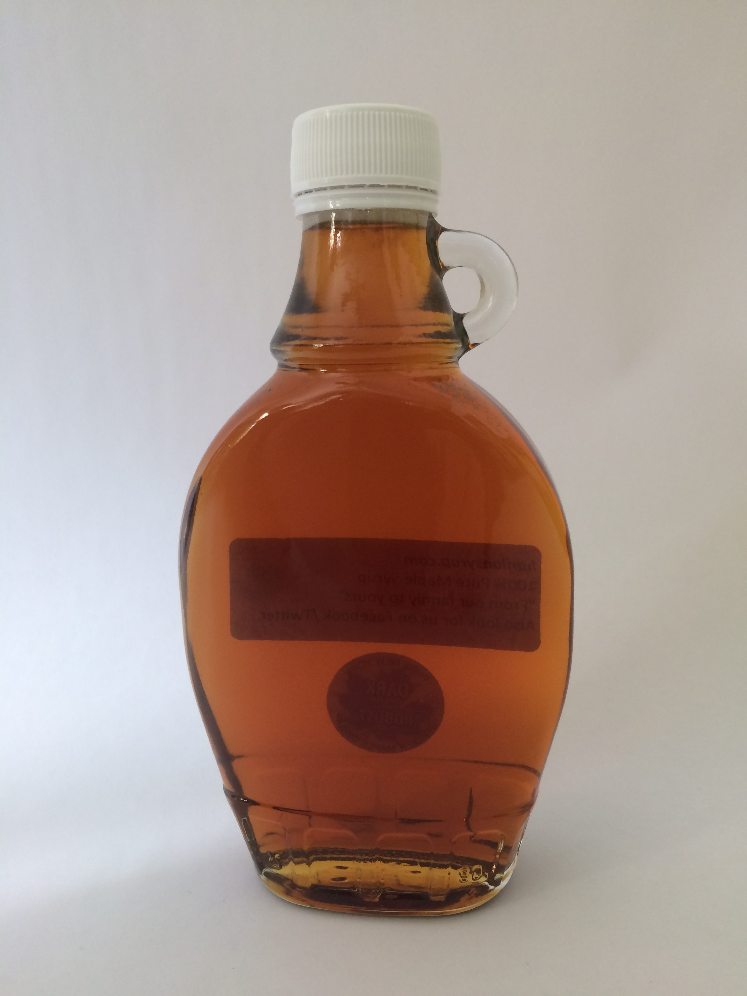 Maple Syrup Clear bottle